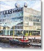 Bbc Scotland Broadcasting Centre Glasgow Metal Print