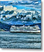 B.c. Ferries Hdr Metal Print