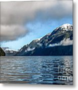 Bc Inside Passage Metal Print