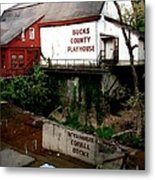 Bc Playhouse Metal Print
