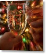 Be Merry Metal Print