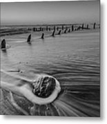 Beach 8 Metal Print