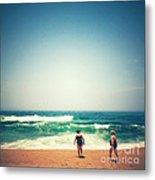 Beach 6 Metal Print