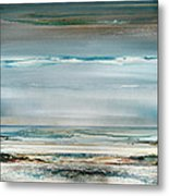 Beach And Driftwood Series No1 Metal Print
