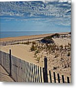 Beach At Cape Henlopen Metal Print