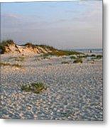 Beach At Sunrise Metal Print