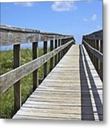 Beach Bound Metal Print