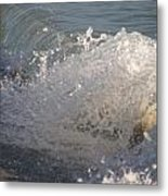 Beach Breaker Metal Print