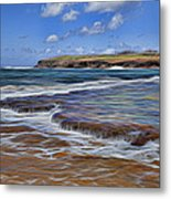 Beach Colors Metal Print