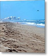 Beach Front 002 Metal Print