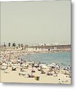 Beach Holiday Metal Print