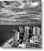 Beach Hotels San Juan Puerto Rico Metal Print