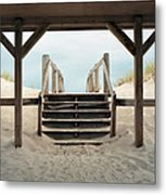Beach House Metal Print