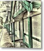 Beach Huts 1 Metal Print