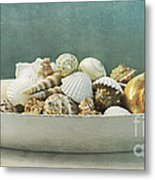 Beach In A Bowl Metal Print