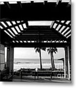 Beach In Del Mar California Metal Print