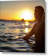 Beach Lifestyle Metal Print