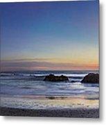 Beach Oasis Metal Print