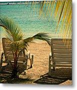 Beach Paradize Metal Print