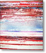 Beach Rhythms And Textures No13 Metal Print
