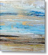 Beach Rhythms And  Textures Northumberland 1a Metal Print