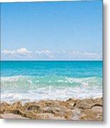 Beach Rocks 0001 Metal Print