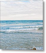 Beach Rocks 0004 Metal Print