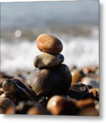 Beach Stones Metal Print by Ivelin Donchev
