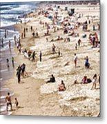 Beach Stories Metal Print