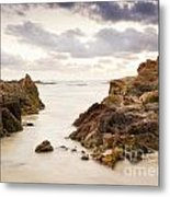 Beach Sunrise Metal Print