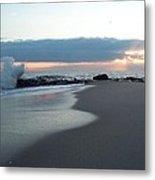 Beach Surf Metal Print