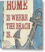 Beach Time 2 Metal Print