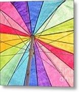 Beach Umbrella 2 Metal Print