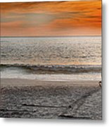 Beach Vendor Metal Print by Ed Pettitt