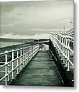 Beach Walkway Metal Print by Tom Gowanlock
