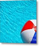 Beachball 1 Metal Print