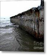 Beached Dock Metal Print by Thedustyphoenix