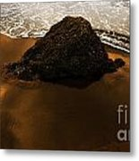 Beaches Of Gold Metal Print