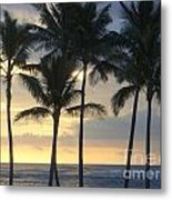 Beachwalk Series - No 7 Metal Print