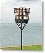 Beacon On Yarmouth Common Metal Print