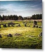 Beaghmore Stone Circles Metal Print