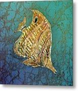 Beaked Butterflyfish Metal Print