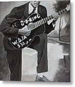 Beale Street Blues Boy Metal Print by Patrick Kelly