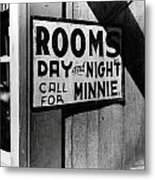 Beale Street Hotel Memphis Tennessee Metal Print