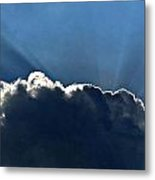 Beam Me Up Metal Print