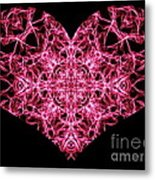 Beaming Heart Metal Print