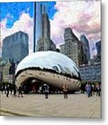 Bean There Metal Print by Cary Shapiro