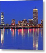 Beantown City Lights Metal Print