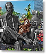 Bear And His Mentors Walt Disney World 03 Metal Print