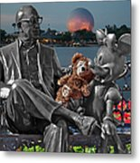 Bear And His Mentors Walt Disney World 05 Metal Print